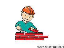 Constructeur illustration - Métier images