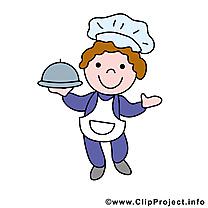 Cuisinier clip art – Profession  image gratuite
