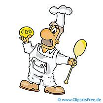 Cuisinier image gratuite - Profession cliparts