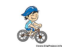 Cycliste dessins gratuits - Métier clipart gratuit