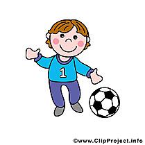 Footballeur clipart gratuit - Profession images
