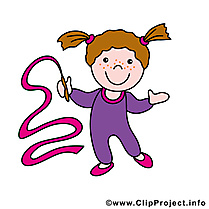 Gymnaste dessin gratuit - Métier image gratuite