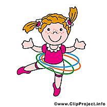 Gymnaste image à télécharger - Profession clipart