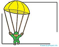 Parachute illustration – Armée images