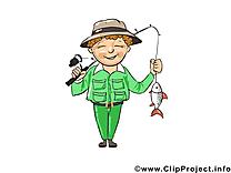 Pêcheur clip art gratuit – Métier images gratuites