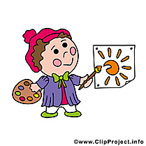 Peintre illustration - Profession images gratuites