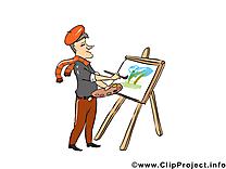 Peintre métier image à télécharger gratuite