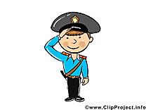 Policier dessin gratuit - Métier image gratuite