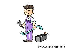Serrurier dessin - Métier  cliparts à télécharger