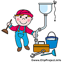 Serrurier illustration - Profession clipart