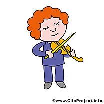 Violoniste images - Profession clip art gratuit