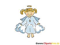 Ange dessin gratuit - Baptême clip arts gratuits