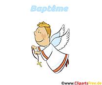 Ange image à télécharger - Baptême clipart