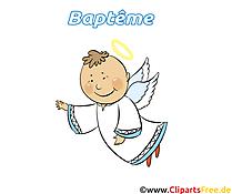Ange images - Baptême clip art gratuit