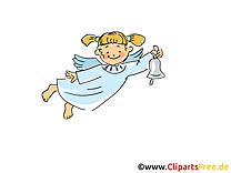 Baptême ange clipart gratuit - images