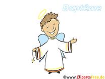 Baptême prêtre dessin gratuit à télécharger