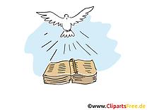 Bible images - Baptême clip art gratuit