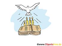 Bible images gratuites – Baptême clipart gratuit