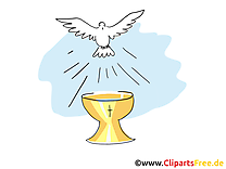 Calice image gratuite - Baptême images cliparts