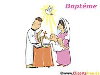 Prêtre clip art gratuit – Baptême  images gratuites