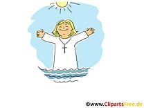 Prêtre clipart gratuit - Baptême dessins gratuits