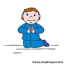 Agenouillé dessins gratuits – Communion clipart