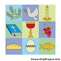 Clip arts gratuits communion illustrations