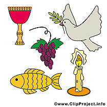 Clip arts gratuits régalade – Communion illustrations