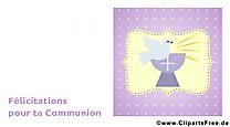 Colombe dessin – Communion à télécharger