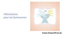 Colombe image gratuite – Communion illustration