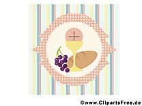 Communion illustration gratuite clipart