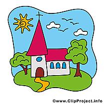 Dessin à télécharger église – Communion images