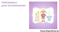 Prière communion illustration à télécharger