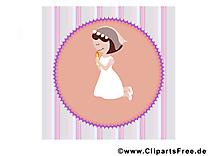 Prière dessins gratuits – Communion clipart