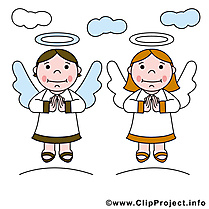 Anges gratuite – Confirmation clipart