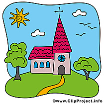 Église clip art – Confirmation gratuite