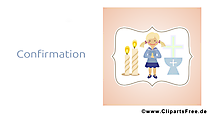 Illustration gratuite prière – Confirmation clipart