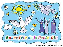Colombe image - Pentecôte clipart