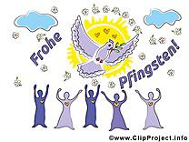 Image gratuite Pentecôte illustration