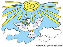 Soleil clipart gratuit - Pentecôte images