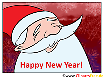 Merry Christmas Carte de Voeux
