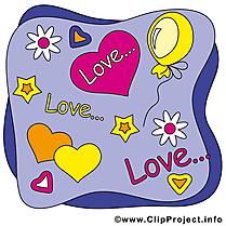 Amour Saint-Valentin image à télécharger gratuite