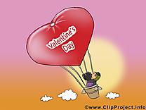 Ballon images – Saint-Valentin clipart gratuit