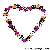 Coeur image - Saint-Valentin images cliparts