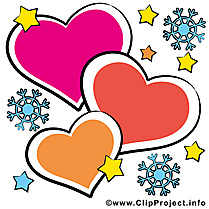 Coeurs illustration - Saint-Valentin images gratuites