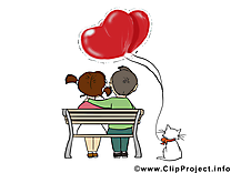 Couple Saint-Valentin image gratuite