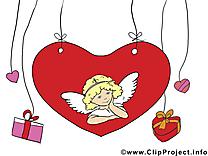 Cupidon clip art – Saint-Valentin image gratuite