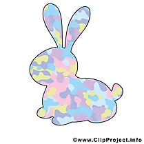 lapin Pâques image gratuite cliparts