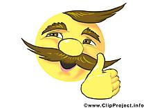 Bravo smiley image à télécharger gratuite