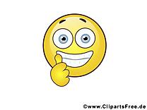 Cool smiley image gratuite